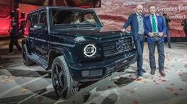 Nuova Mercedes Classe G, il Terminator dei Suv
