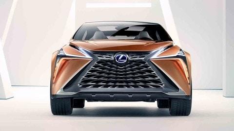 Lexus LF-1 Limitless Concept, ammiraglia crossover
