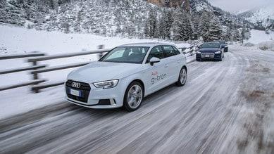 Sostenibilità, non compromessi  Con Audi g-tron e Care's in Alta Badia