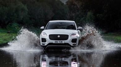 Jaguar E-Pace, non chiamatelo baby: primo contatto