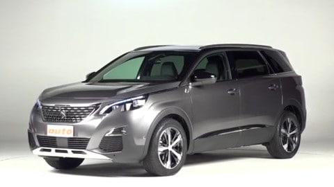 Peugeot 5008, sette posti con grinta: la prova