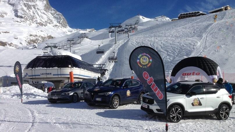 Auto dell'Anno 2018: le sette finaliste sulla pista... da sci