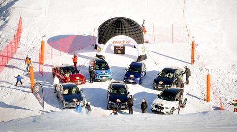 Auto dell'Anno 2018: le 7 finaliste sulla neve di Cervinia - FOTO