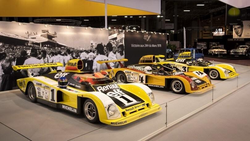 Alpine, a retròmobile si celebrano i trionfi di Le Mans