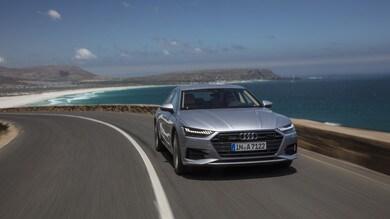 Audi A7 Sportback, ammiraglia formato coupé: prova su strada