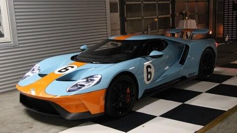 Ford GT la supercar americana sbarca in Europa