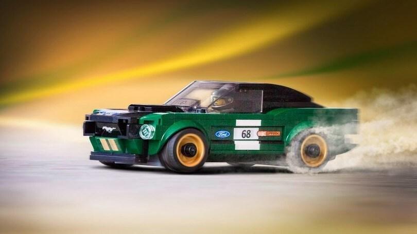 Mattoncini Fumanti Mustang E Bugatti Chiron Di Lego Autoit