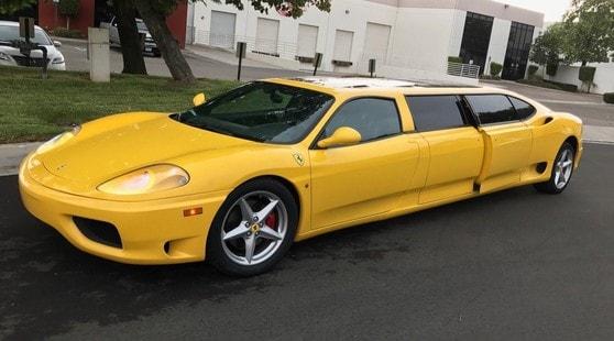 360 Modena Limousine, la Ferrari che nessuno vuole