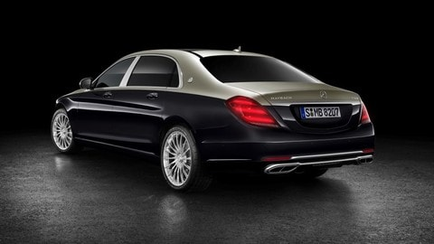 Mercedes-Maybach Classe S, restyling di lusso: foto