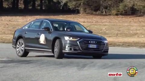 Auto dell'Anno: Audi A8, l'ammiraglia che trasuda lusso