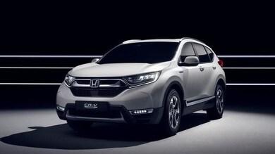 Honda verde, CR-V ibrido e i concept a Ginevra