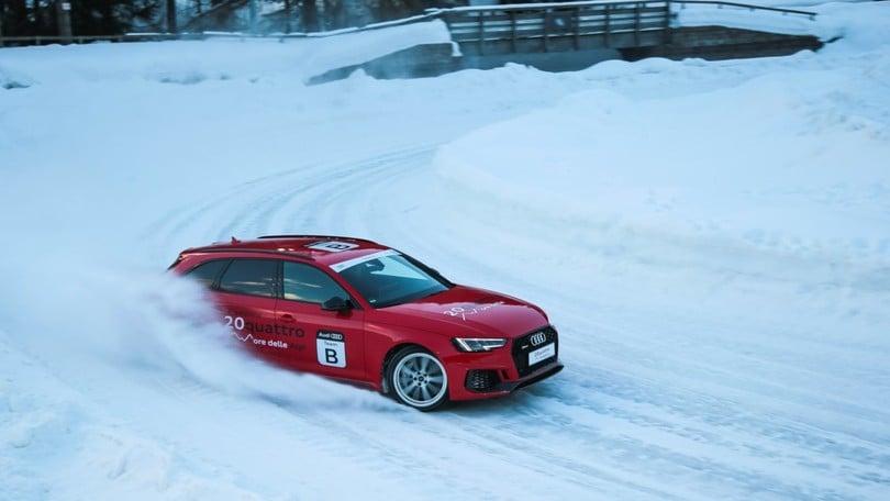20quattro ore delle Alpi Audi: sfida tra i ghiacci