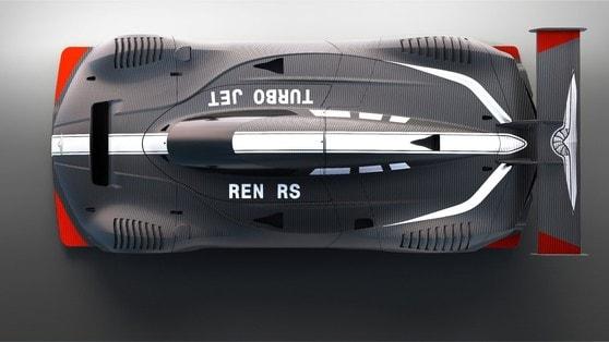 Techrules Ren RS, 1300 cv grazie alle micro-turbine