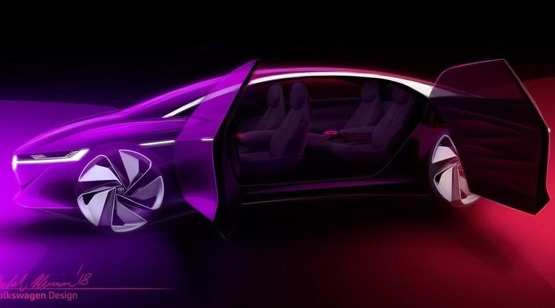 Volkswagen I.D., Vizzion elettrica formato ammiraglia