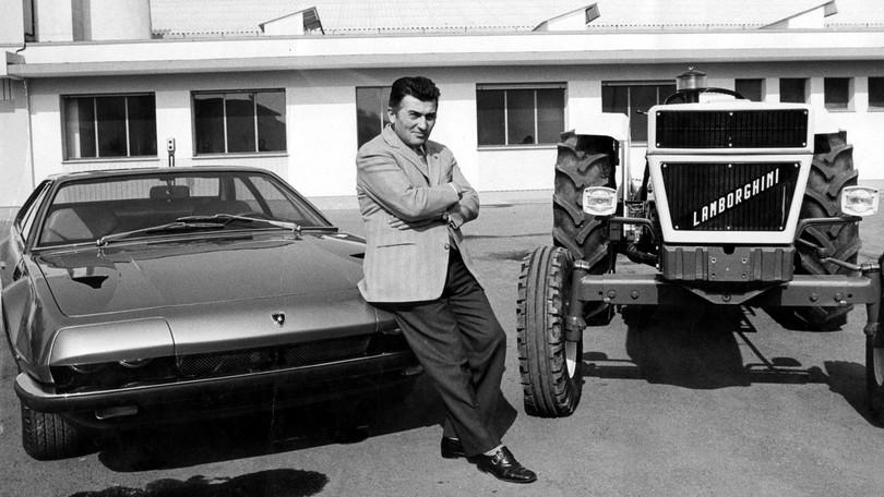 Ferruccio Lamborghini, 25 anni dopo è sempre tempesta ed impeto