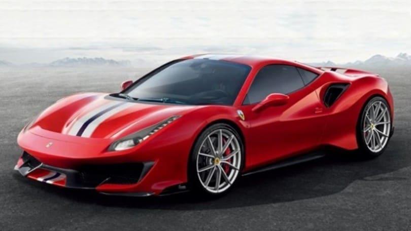 Ferrari 488 Pista, la corsara si svela in anticipo