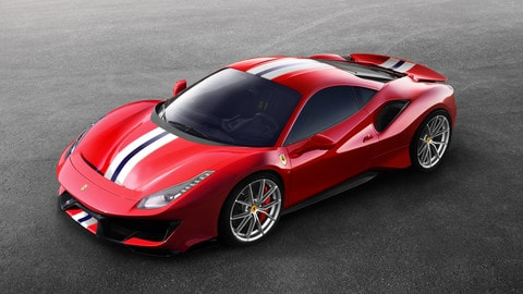 Ferrari 488 Pista: foto ufficiali