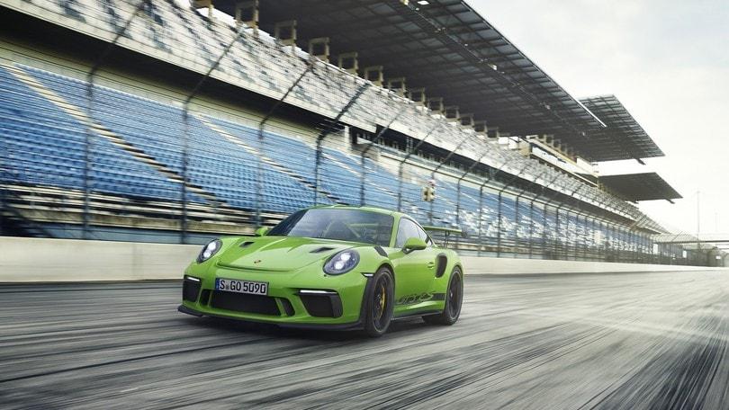 Porsche 911 GT3 RS, grandissime aspirazioni