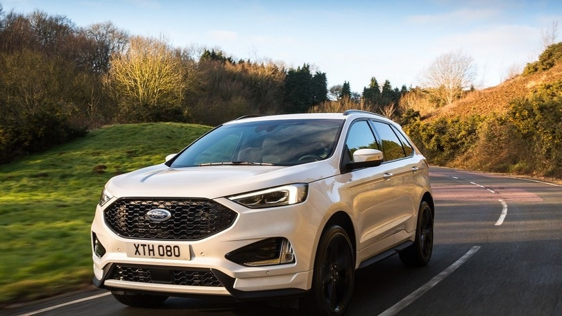 Ford Edge l'europeo, novità EcoBlue Bi-Turbo sul restyling