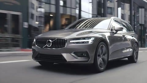 Volvo V60, la seconda generazione