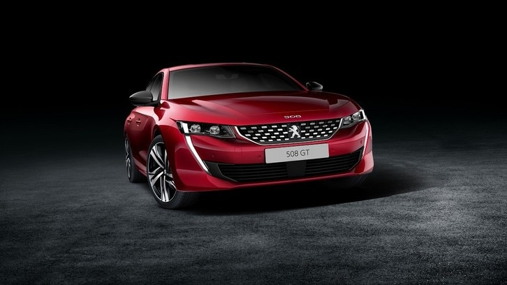 Nuova Peugeot 508, berlina dall'Instinct sportivo a Ginevra