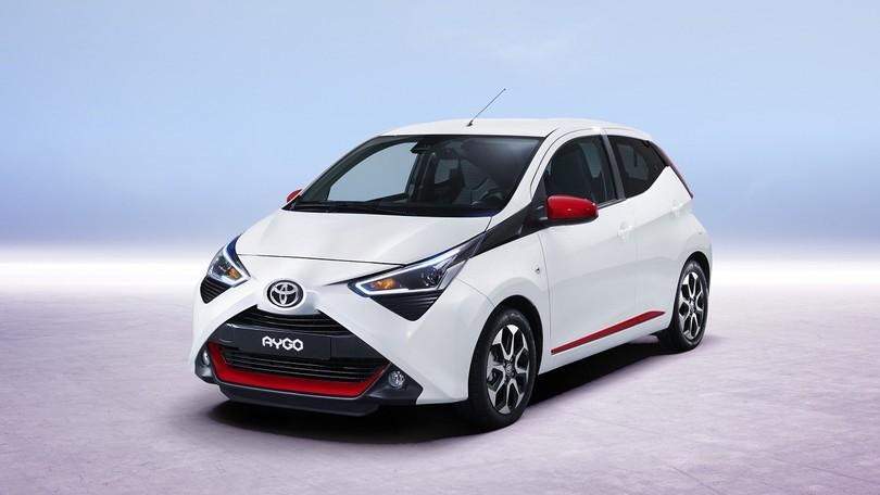 Toyota Aygo restyling, a Ginevra X fisso