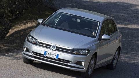 Volkswagen Polo e Golf TGI: foto