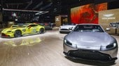 Nuova Aston Martin Vantage, V8 e GTE in scena a Ginevra