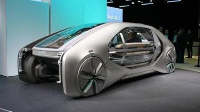Renault EZ-GO concept, città da condividere