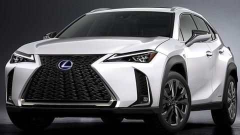 Lexus UX: ibrido, crossover e compatto
