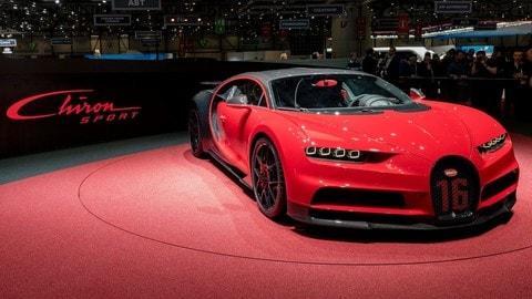 Bugatti Chiron Sport: foto