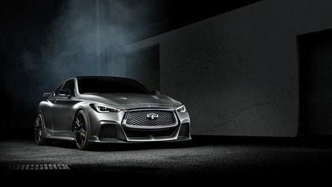 Infiniti Q60 Project Black S, concept ibrido al gusto di F1: foto