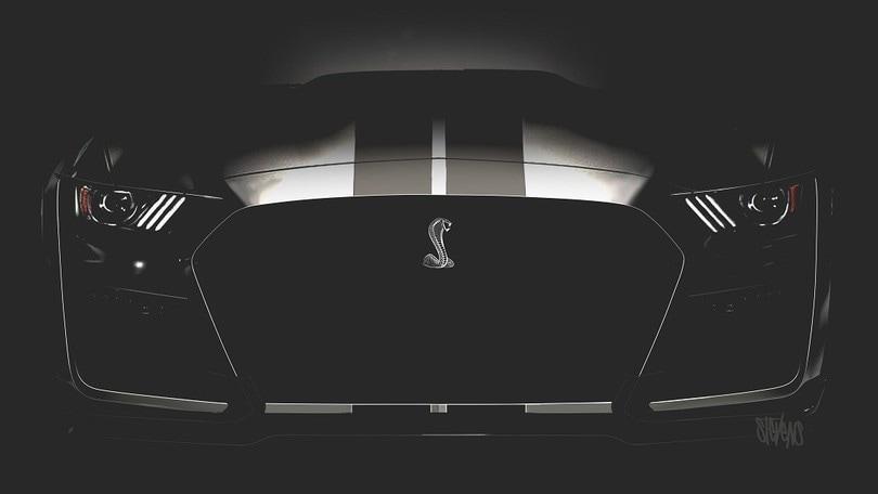 Mustang Shelby GT500, il volto del Cobra da 700 cavalli