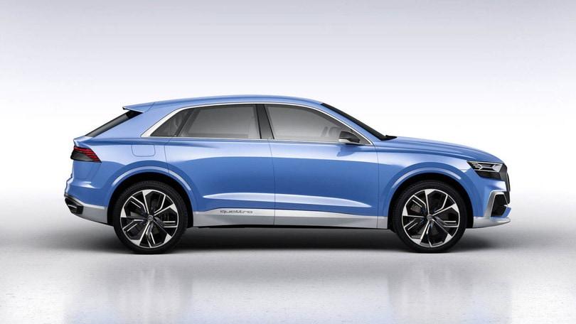 Audi Q8, Suv-Coupé ibrido al Salone di Shanghai
