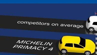 Michelin lancia Primacy 4 e fa chiarezza su spessore battistrada
