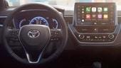 Toyota Auris 2019, gli interni si mostrano con la nuova Corolla