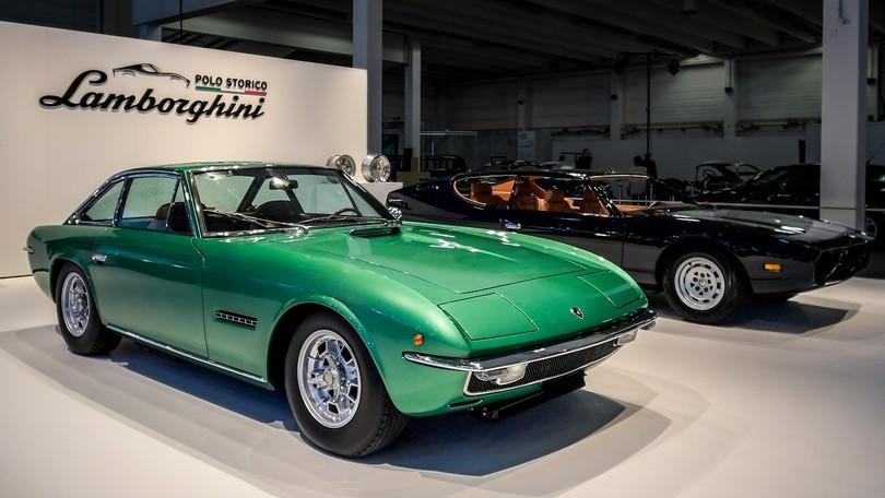 Lamborghini Espada e Islero, festa di compleanno con restauro