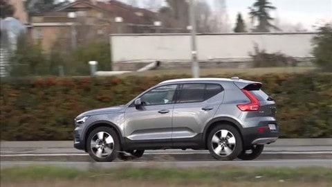 Volvo XC40, prova su strada dell'Auto dell'Anno 2018