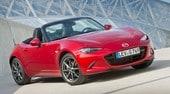 Mazda MX-5 cambia passo: versione 2019 a quota 181 cv
