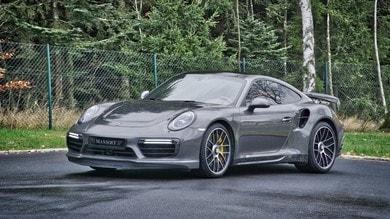 Porsche 911 Turbo S, abito forgiato Mansory