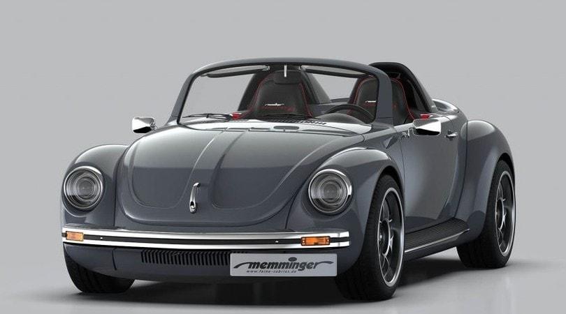 Memminger Roadster, la storia del Maggiolino trainata da 210 cv