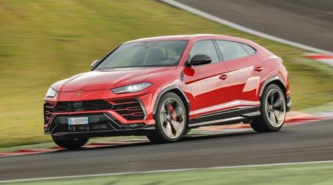 Lamborghini Urus, test a Vallelunga