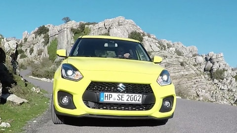 Suzuki Swift Sport, divertimento light