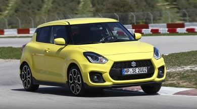 Suzuki Swift Sport, divertimento light: primo contatto