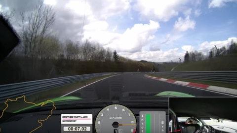 Porsche 911 GT3 RS: 6:56.4 al Nurburgring