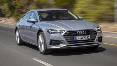 Audi A7 Sportback, gran turismo show: primo contatto