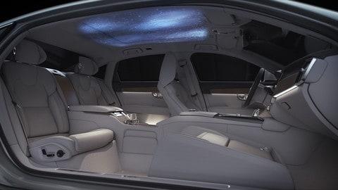 Volvo S90 Ambience Concept, lusso in tre sensi: foto