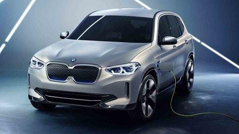 BMW iX3 Concept, il primo SAV a batterie