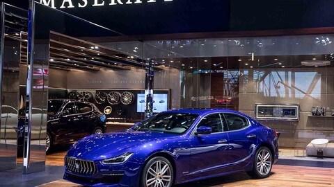 Maserati al Salone di Pechino