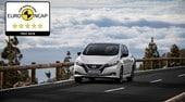 Nissan Leaf, un'elettrica a 5 stelle in sicurezza